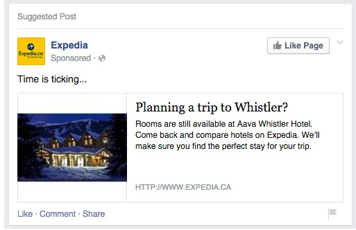 expedia-facebook-remarketing-ad